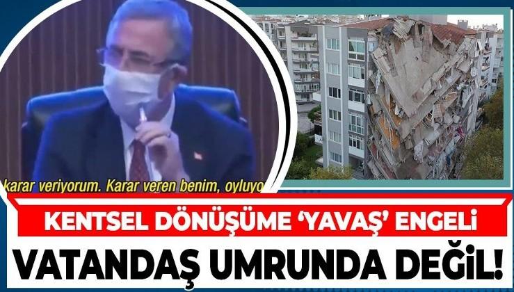 Mansur Yavaş'tan kentsel dönüşüme veto