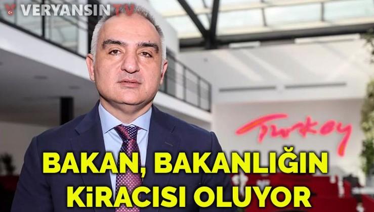Kültür ve Turizm Bakanı, kendi bakanlığının kiracısı oldu