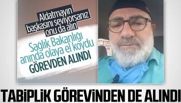 Bakan talimat verdi: Cumhuriyet düşmanı Ali Edizer, tabiplik görevinden de alındı