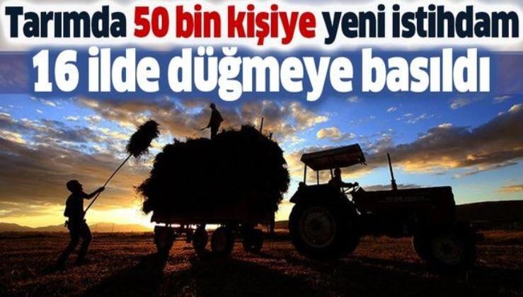 Son dakika: 51 milyonluk kredi, 50 bin kişiye istihdam: Hükümet tarımsal kalkınma hamlesi başlattı