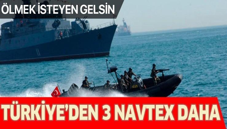 Son dakika: Türkiye'den 3 farklı Navtex daha