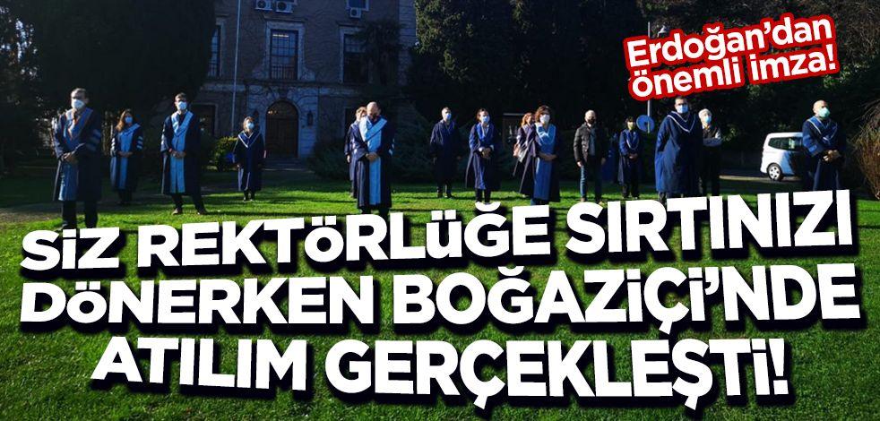Erdoğan imzaladı! Boğaziçi Üniversitesi'ne Hukuk Fakültesi ve İletişim Fakültesi