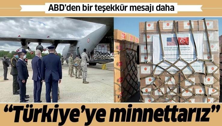 Son dakika: ABD Dışişleri Bakanı Pompeo'dan Türkiye'ye bir teşekkür daha