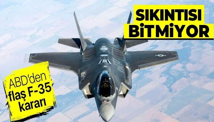 ABD Hava Kuvvetleri'nden flaş F-35 kararı! Motor sıkıntısı yüzünden hava gösterileri kısıtlanacak...