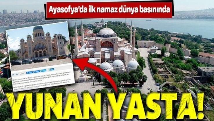 Ayasofya'da ilk namaz dünya basınına böyle yansıdı!