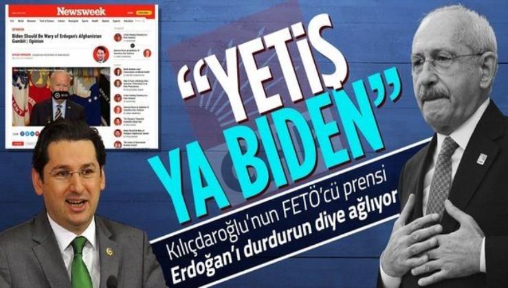 Firari eski CHP vekili Aykan Erdemir'den sahibi Biden'a çağrı: Kabil Havalimanı'nı Erdoğan'a bırakmayın
