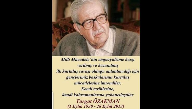 Turgut Özakman Şu Çılgın Türkler seni unutmuyor!