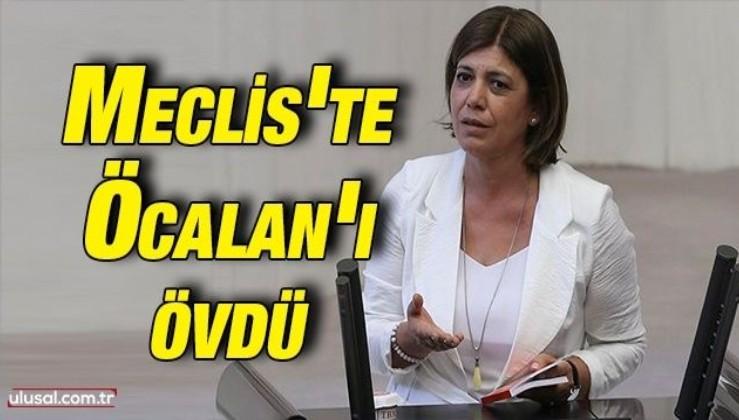 HDP Grup Başkanvekili Meral Danış Beştaş Meclis'te Öcalan'ı övdü