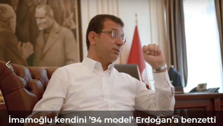 İmamoğlu kendini '94 model' Erdoğan'a benzetti