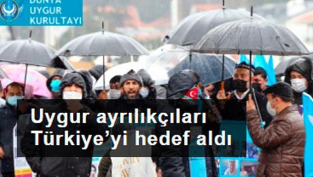 ABD dolarlarıyla fonlanan Uygur ayrılıkçıları Türkiye'yi hedef aldı