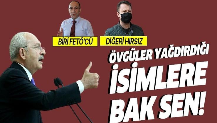 Kılıçdaroğlu'nun övgüler yağdırdığı isimlere bak sen! Biri FETÖ'den diğeri de yolsuzluktan tutuklandı!