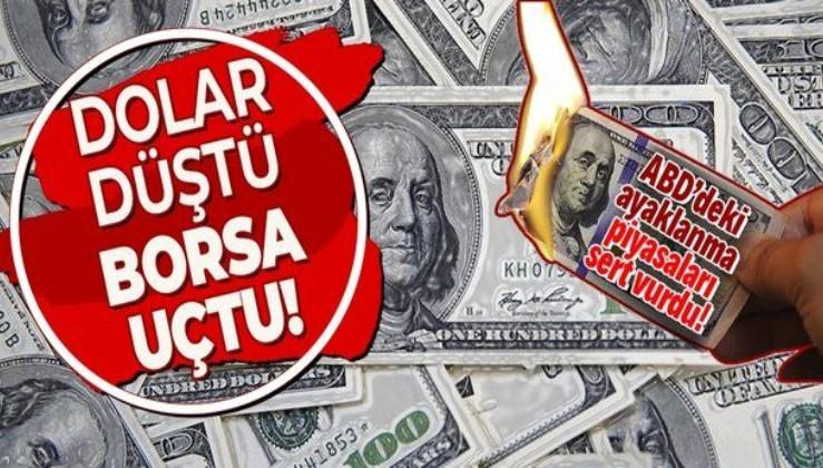 Dolar düştü borsa uçtu! ABD'deki olaylar doları nasıl etkiledi?