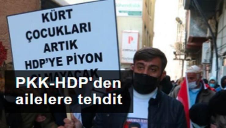 HDP'den ailelere tehdit