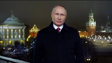"""""""Я устал, я ухожу!"""" - Новорічне звернення """"Путіна"""" з """"оселедцем"""" підірвало мережу (відео)"""