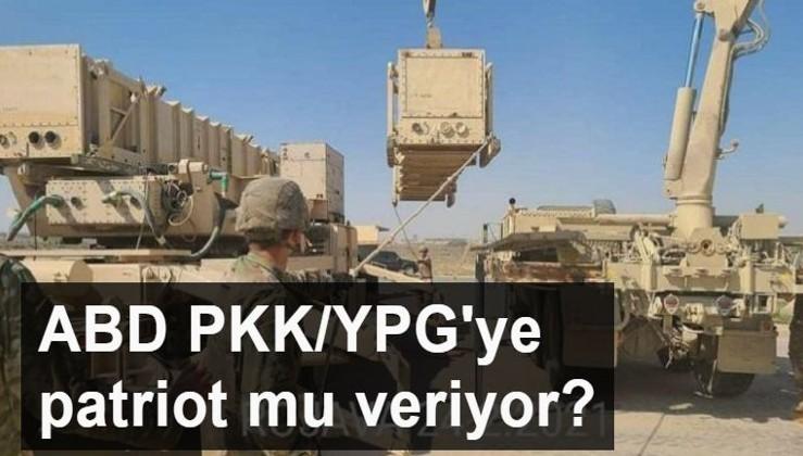 'ABD, YPG/PKK'ya hava savunma sistemi taşıyor' iddiası