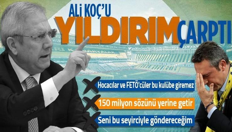 Fenerbahçe eski başkanı Aziz Yıldırım'dan flaş adaylık açıklaması! Ali Koç yönetimini bombaladı