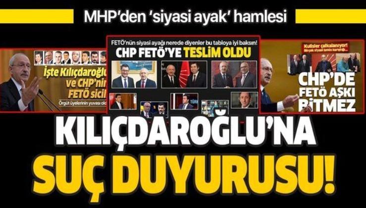 MHP'den Kılıçdaroğlu'na suç duyurusu!.