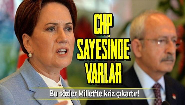 Millet İttifakı'nda kriz çıkartacak sözler! CHP'li Çanakkale Belediye Başkanı Ülgür Gökhan: İYİ Parti CHP sayesinde var!