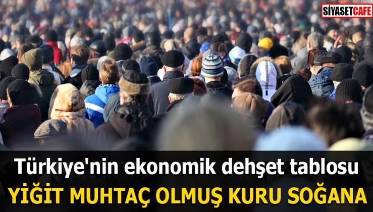 Türkiye'nin ekonomik dehşet tablosu Yiğit muhtaç olmuş kuru soğana