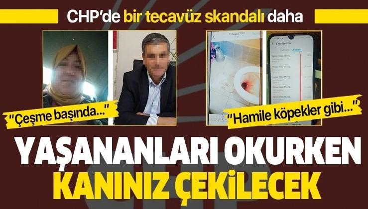 CHP'de tecavüz skandalları bitmiyor! Hamile bıraktığı partili kadına düşük yaptırdı