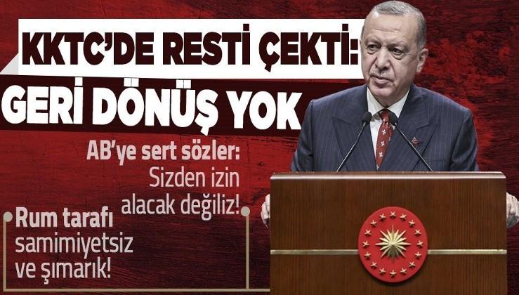 Cumhurbaşkanı Erdoğan: ''Azerbaycan'ın KKTC'yi tanıması konusunda tereddüt edecek hiçbir şey yok''