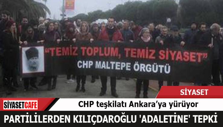 Partililer bu kez Kılıçdaroğlu 'Adaleti' için yürüyor!