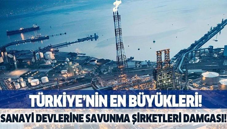 """Türk savunma sanayisi şirketleri """"sanayinin en büyükleri"""" araştırmasına damga vurdu!"""