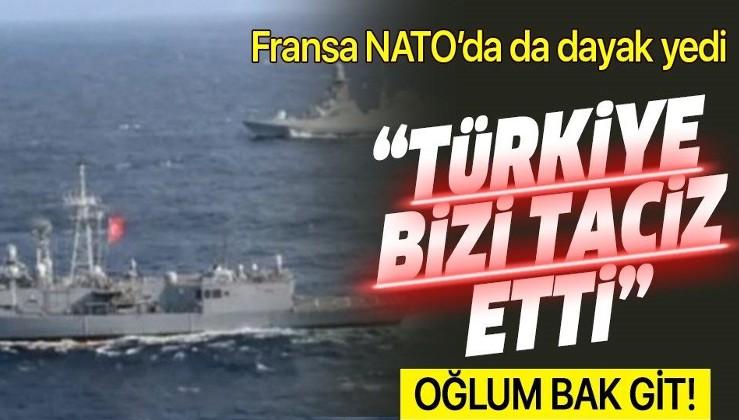 """Fransa'nın """"Türk fırkateynleri savaş gemimizi taciz etti"""" şikayeti NATO'dan döndü"""