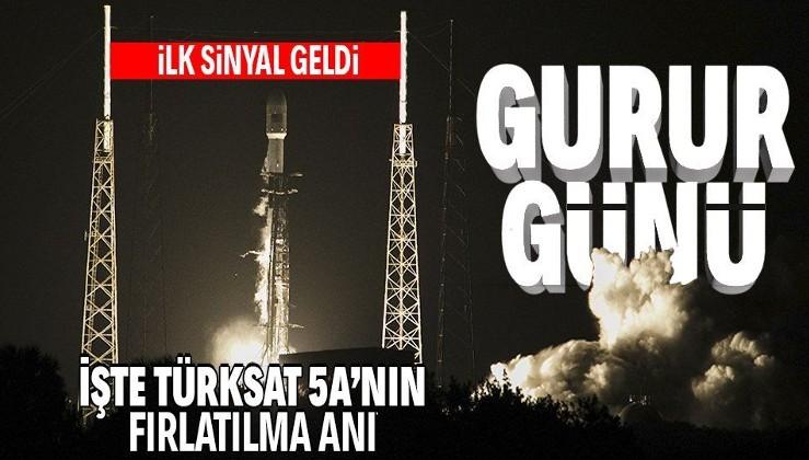 SON DAKİKA: Türksat 5A uzaya fırlatıldı! Bakan açıkladı: İlk sinyal alındı