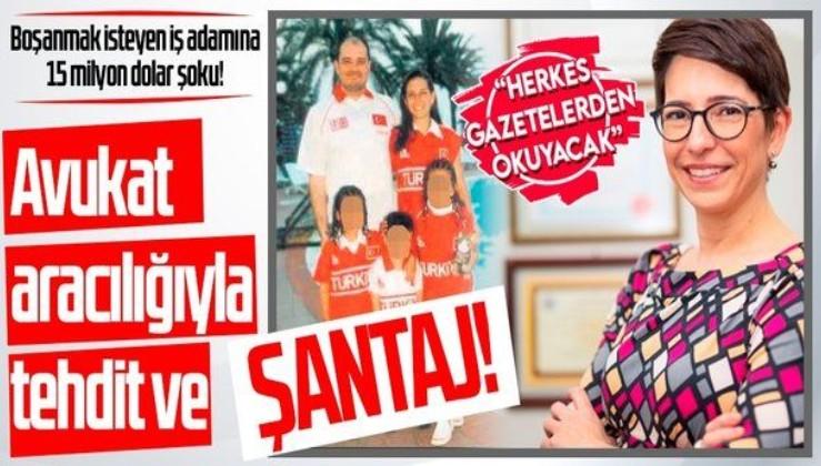Son dakika: Boşanmanın arkasından şantaj çıktı! Erdem Arıoğlu'nun eşi Petek Arıoğlu 15 milyon dolar istemiş