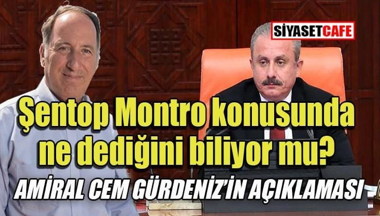 Amiral Gürdeniz: Montrö Boğazlar Sözleşmesi Türkiye'nin Kuzey Kalesidir