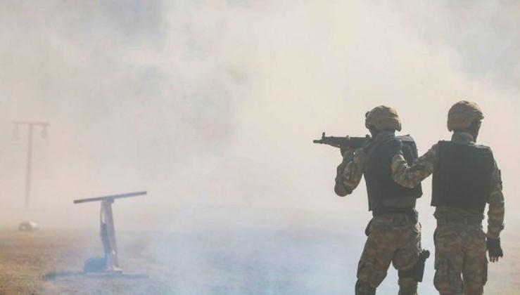 Barış Pınarı bölgesine sızma girişiminde bulunan 4 PKK/YPG'li terörist etkisiz hale getirildi