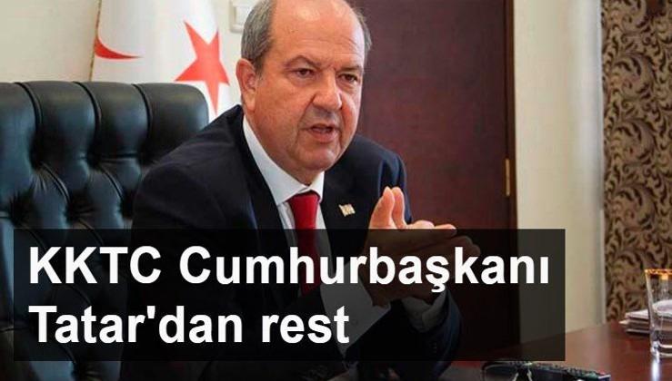 KKTC Cumhurbaşkanı Tatar: Rum Yönetimi üzerinden gelen aşıyı kabul etmeyeceğiz