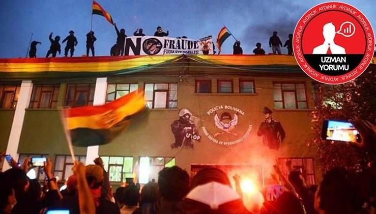 'Halk direnişi' maskeli Bolivya darbesi