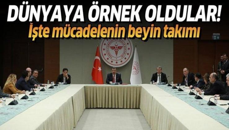 İşte Türkiye'nin koronavirüsle mücadele politikasına yön veren Bilim Kurulu!.