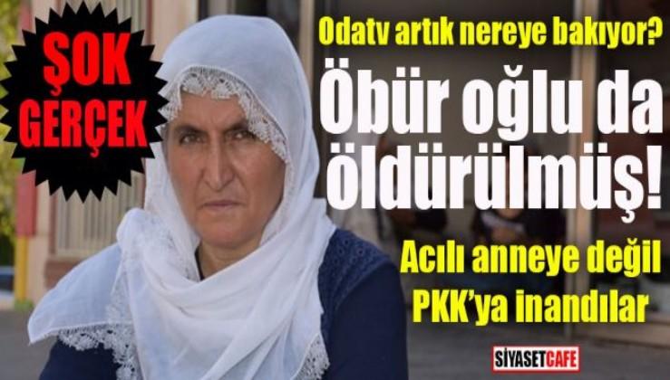 O internet sitesinden PKK'ya destek: Anneye inanmadı PKK'ya inandı
