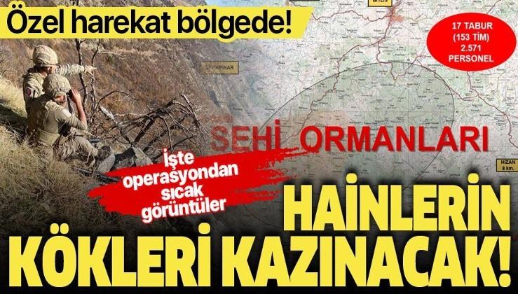 """Son dakika: Bitlis'te """"Yıldırım-16 Sehi Ormanları"""" operasyonu başlatıldı! Binlerce personel katılıyor"""
