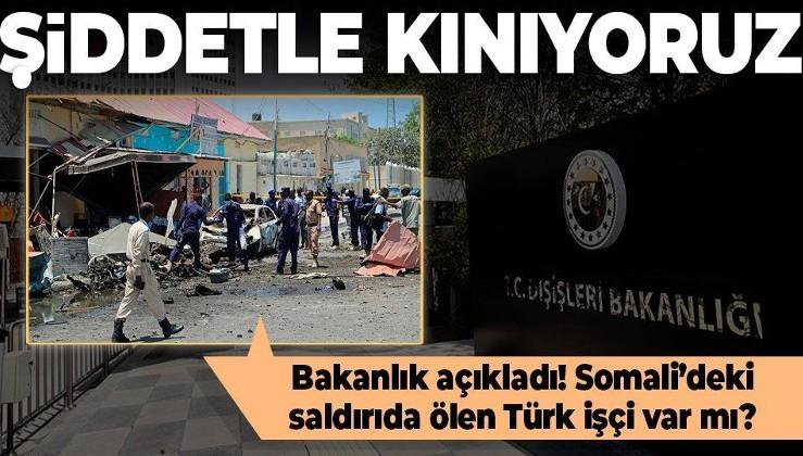 SON DAKİKA: Somali'de Türk firmasına saldırı! Bakan Koca acı haberi duyurdu