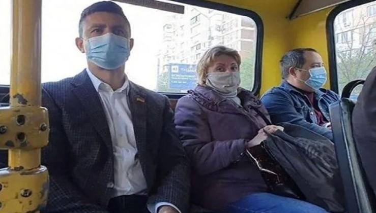 """Як """"слуга"""" Коля Тіщенко катався на автобусі, проїхав одну зупинку і не заплатив за проїзд, бо має пільги (відео)"""