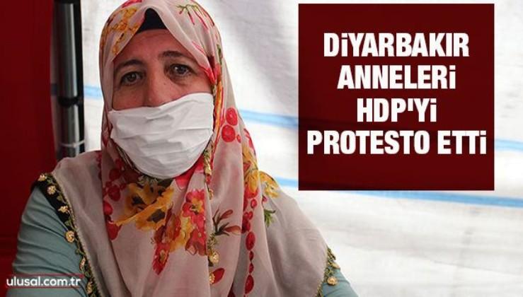 Diyarbakır anneleri HDP'yi protesto etti