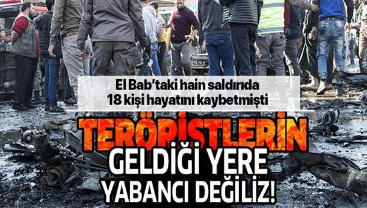 El Bab'ı kana bulayan teröristler Kandil'den çıktı!.