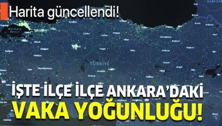 Hayat Eve Sığar uygulaması güncellendi! İşte ilçe ilçe Ankara'nın koronavirüs haritası