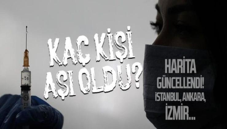 Son dakika: 28 Nisan 2021 Koronavirüs aşı tablosu! Türkiye'de kaç kişi aşılandı? İstanbul, Ankara ve İzmir'de aşılanan sayısı kaç?