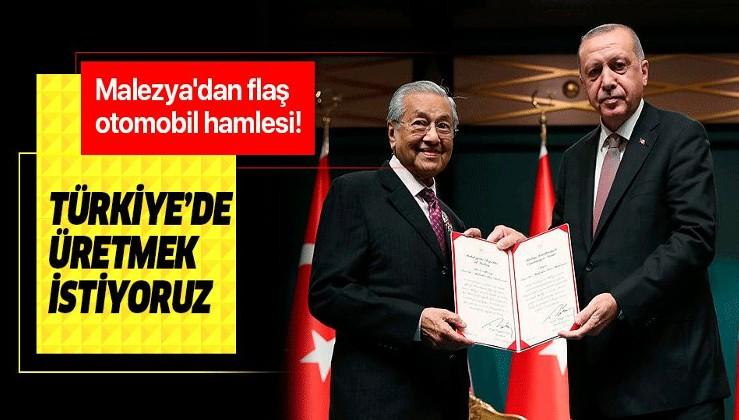 Malezya'dan Türkiye hamlesi! Otomobil fabrikası kurmak istiyorlar