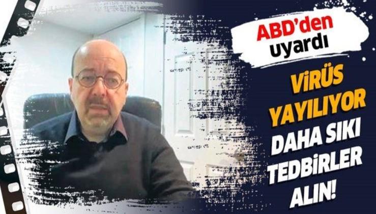 Prof. Dr. Derya Unutmaz ABD'den Türk halkını uyardı: Virüs yayılıyor, daha sıkı tedbirler alın.