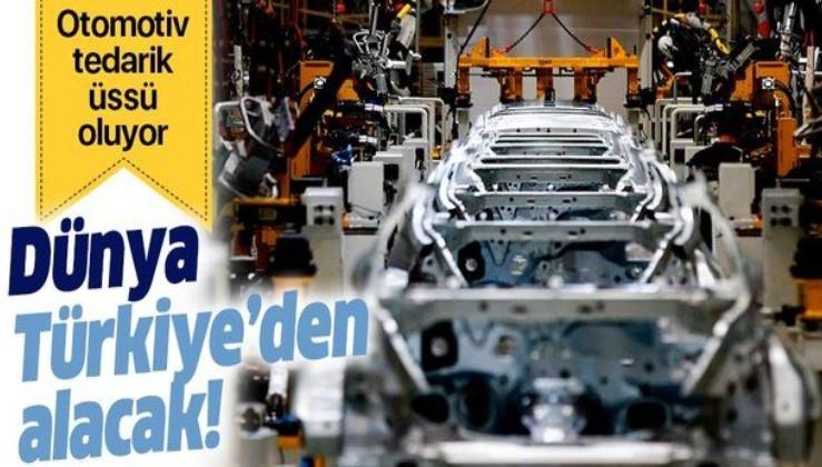 Türkiye otomotiv tedarik üssü oluyor: Dünya için yedek parça üretecek