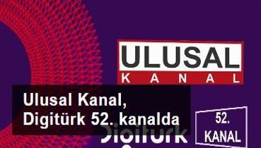 Ulusal Kanal, Digitürk 52. kanalda