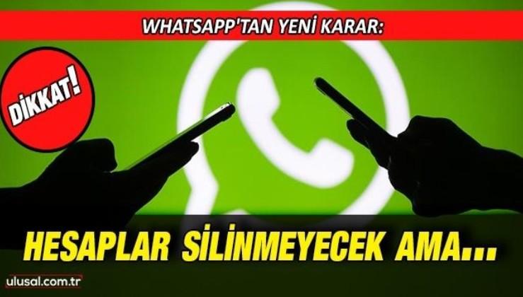 Whatsapp'tan kullanıcıları ilgilendiren yeni açıklama