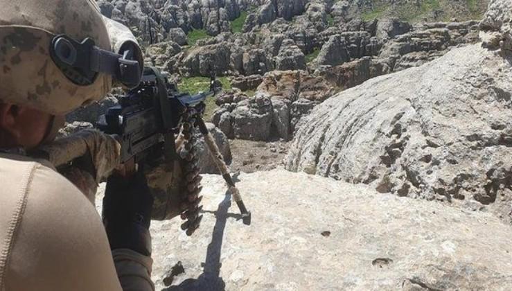 Saldırı hazırlığında olduğu belirlenen 3 PKK'lı terörist etkisiz hale getirildi