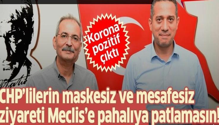 CHP'li vekil Ali Mahir Başarır'ın ziyaret ettiği CHP'li başkan Haluk Bozdoğan'ın koronavirüs testi pozitif çıktı!